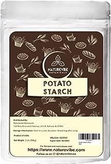 Naturevibe Botanicals Organic Potato Starch 2lbs | Non-GMO and Gluten Free | Thickening Agent