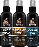 Shoe Deodorizer Spray | Disinfectant Foot Odor Eliminator, Air Freshener for Sneakers, Gym Bags, and Lockers | Men by Combat Cleaner