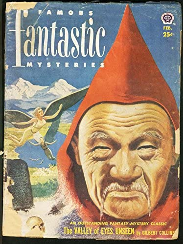 FAMOUS FANTASTIC MYSTERIES 1952 Year-end Ranking TOP1 gift COVER-L@@K FEB-WEIRD FR