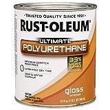 Rust-Oleum 260163 Ultimate Polyurethane, Quart, Satin - 2 Pack