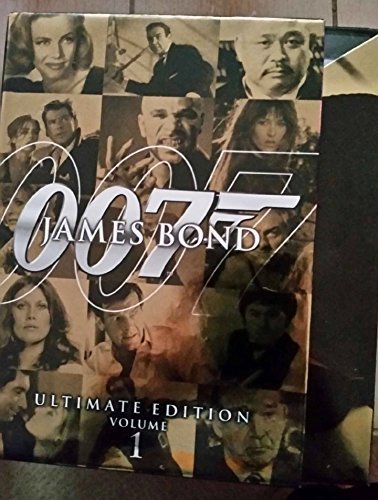 James Bond : Ultimate DVD Set (Goldfinger Diamonds Are Forever The Living Daylights  Tomorrow Never Dies the Spy Who Loved Me) Volume 1 10 DVD s