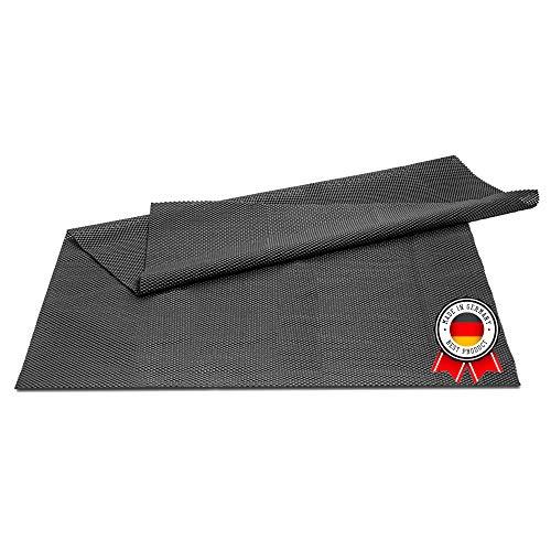 PREMFIX 100x80cm Antirutschmatte zuschneidbar I Universal Antirutschunterlage für Teppich, Auto und Schubladen I Anti Rutsch Matte, Kofferraummatte