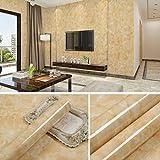 Épais autocollants de meubles en marbre porte armoire pierre autocollants muraux autocollants imperméable à l'eau de papier peint papier peint 0.6m * 5m