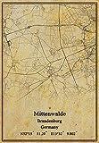Leinwanddruck, Motiv: Deutschland-Mittenwalde Brandenburg,