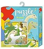 Ma boîte à jeux: Puzzle les dinosaures - Dès 3 ans