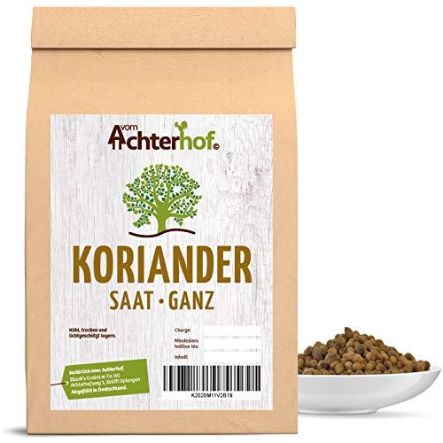 Coriander Koriander-Samen ganz Gewürz 250 g Koriandersaat ideal auch als Brotgewürz