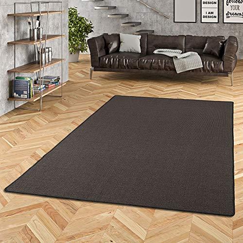 ASTRA Sisal Natur Teppich Schwarz in 24 Größen