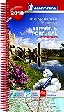 España & Portugal 2018 (Atlas de carreteras y turístico ) (Atlas de carreteras Michelin)