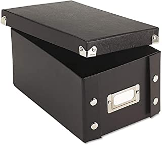 Ideastream Snap-N-Store Index Card File Box, Holds 1,100 4 x 6 Cards, 4.75