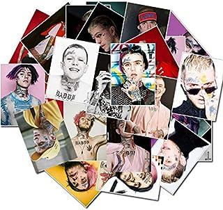 Lil Peep Premium 25 PC Vinyl Stickers Decal Set