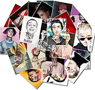 Lil Peep 25 PC Vinyl Stickers Decal Set