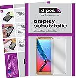 dipos I 6X Schutzfolie klar kompatibel mit ZTE Blade V9 Folie Bildschirmschutzfolie (3X Vorder- und 3X Rückseite)