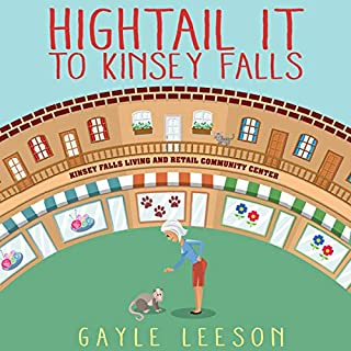 Hightail It to Kinsey Falls cover art