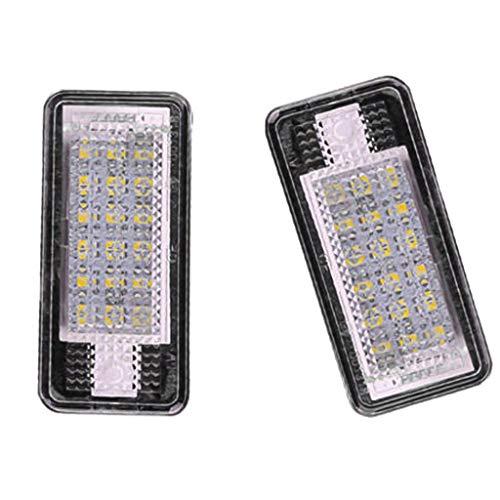 LED Kennzeichenbeleuchtung Kennzeichenleuchte für A3/S3 A4/S4/RS4 A5 A6/C6 A8/S8 Q7 RS6 plus