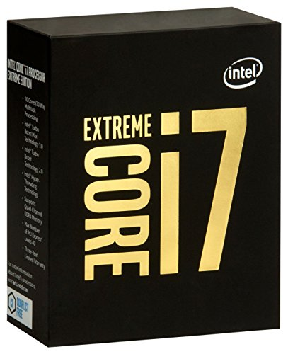 Intel Core i7-6950X Processor Extreme Edition (25M Cache, up to 3.50 GHz) processor - Processors (up to 3.50 GHz), 3.00 GHz, 14 nm, 25 MB, 3.50 GHz, Broadwell E, 128 GB)