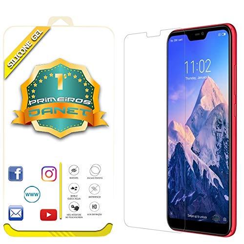 Película De Gel Silicone Flexível Para Xiaomi Mi A2 Lite Tela 5.84 - Proteção Que Adere Em Toda A Tela - Danet