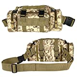 IronSeals Molle Tactical Sport Duffle Bag Waterproof Deployment Bag