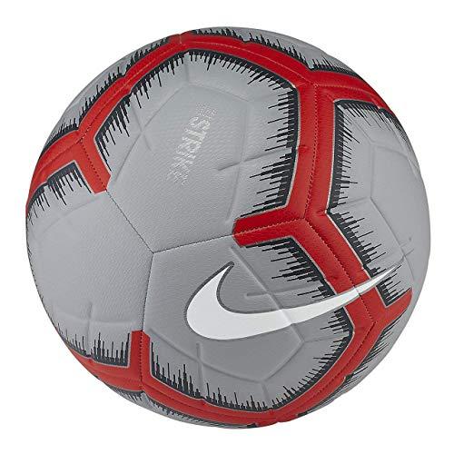 Nike Youth Strike Balón de fútbol, Platino Puro/Lobo Gris/Blanco, 3