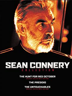 Sean Connery Collection: (The Hunt for Red October / The Presidio / The Untouchables)