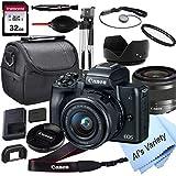 Canon EOS M50 Mirrorless Digital Camera with...