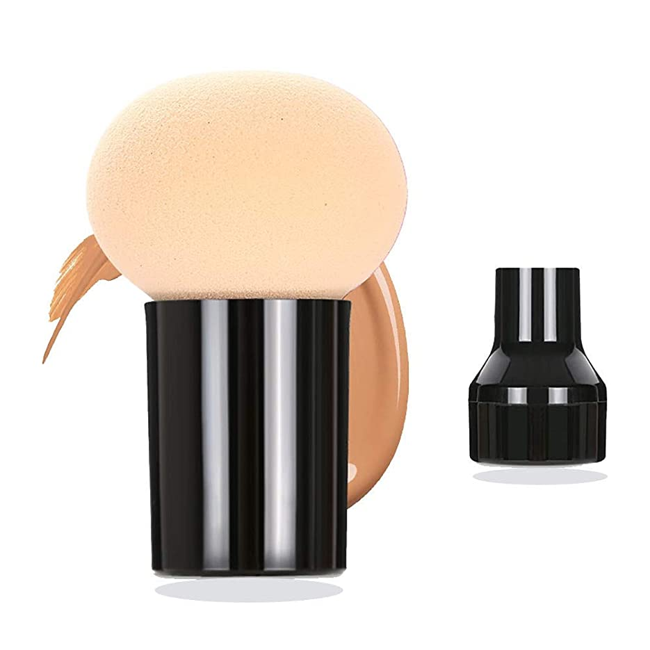 平方ベース金銭的なスポンジパフ メイクスポンジパフ 多機能セット 化粧道具 乾湿両用 美容ツール きのこ頭化粧パフ BBクリー フェイシャル