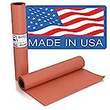 Pink Kraft Butcher Paper Roll - Long 24 Inch x 175 Feet (2100 Inch) - Food Grade Peach Wrapping...