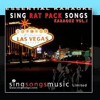 Sing Rat Pack Songs Volume 1