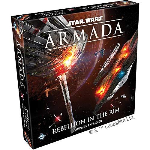 Fantasy Flight Games - Star Wars Armada: Expansión: Rebellion in The Rim Campaña - Juego en Miniatura