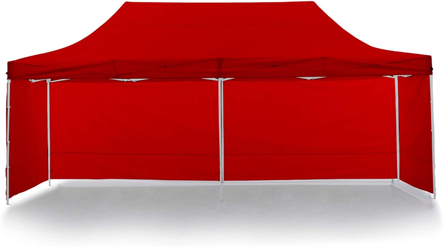Wallaroo 3m x 6m Marquee  PopUp Gazebo Outdoor Folding Tent Canopy  Red