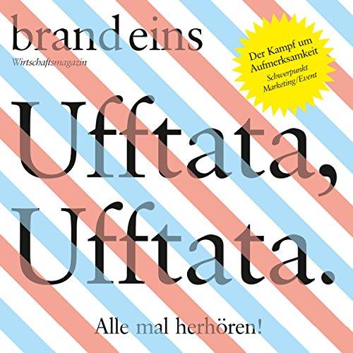 brand eins audio: Marketing/Event audiobook cover art