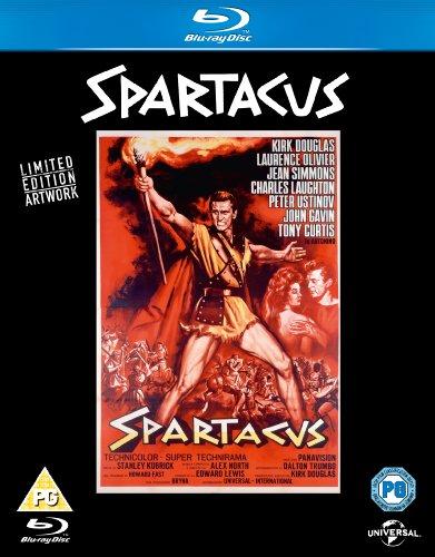 Spartacus - Original Poster Series [Blu-ray] [1960] [Region Free]