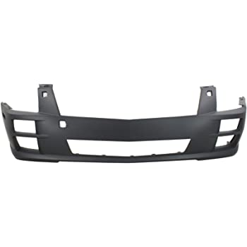 Front Bumper Cover Compatible with CADILLAC CTS 2008-2014 Primed with Halogen Headlights