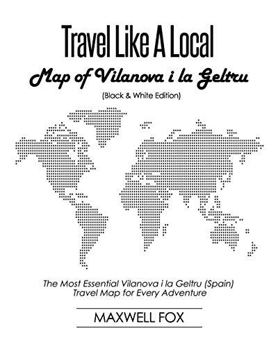 Travel Like a Local - Map of Vilanova i la Geltru (Black and