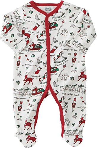 Mud Pie Very Merry Sleeper (Infant) Red 3-6 Months (Infant)
