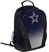 FOCO NFL Dallas Cowboys Logo Gradient Print Primetime Deluxe Backpack, Team Color, Standard, One Size