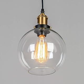 KOSILUM - Suspension Ronde rétro - Olivia - EN SOLDES ! - Lumière Blanc Chaud Eclairage Salon Chambre Cuisine Couloir - 1 ...