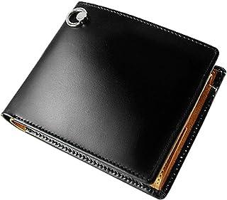 ユナイテッドオム・プレジデント United HOMME-President- 二つ折り財布 コードバン×バッファローレザー ドロップリング UHP-1149