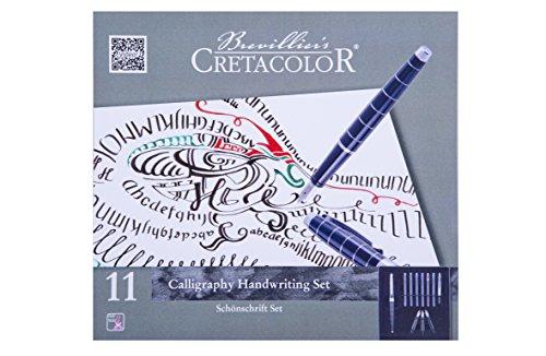 Cretacolor Kalligraphie Set 11-teilig | Lettering | Calligraphy & Hand Lettering Starter Set