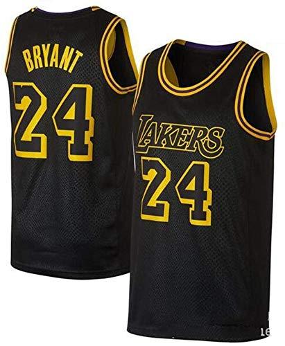WXR Männer-T-Shirt Mens Trikots Sport-Weste # 24 Basketball-Trikot Anzug Tops Basketball-T-Shirt for Basketball-Unterhemd Vest Anzug (Size : M)