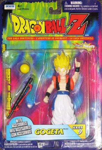 """Dragonball Z 5"""" SS GOGETA Action Figure - EARLY IRWIN TOYS - VERY RARE image"""