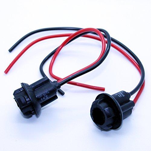 2 x Lampes Version – T10 Lampe Ampoule Prise Câble réparation Socle Capacité Câble
