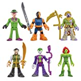 Fisher-Price Friends Imaginext DC Super Villains Action Figure with Slade, Scarecrow, Ras al Ghul
