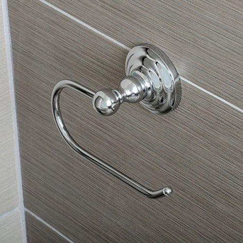 AmazonBasics - Klassischer Standard-Toilettenpapierhalter 3