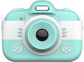 Monland CáMara Digital para Ni?Os Selfie Grabadora de Video de Dibujos Animados VideocáMara Pantalla de Prensa de 3 Pulgadas 18.0MP con Tarjeta de 16G TF Regalos para Ni?As Ni?Os (Azul)