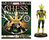 Eaglemoss Marvel Chess Collection Electro Black Pawn Chess Piece with Collector...