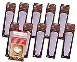10 cartuchos de filtro compatibles con Pro Aqua Melitta 192830 Claris + 10 pastillas de limpieza HW