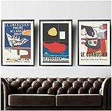 Eryan le corbusier Ausstellung Poster Vintage Museum