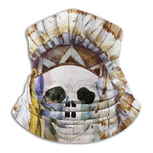 Lzz-Shop Native Schedel slangdoek - haarband sjaal wikkelsjaal slangsjaal voor vissen sport gezicht