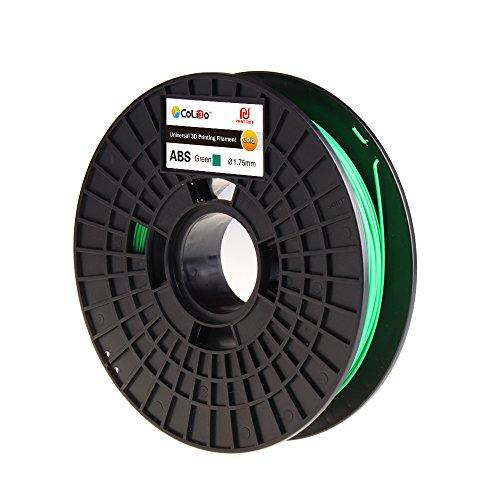 CoLiDo LCD003GQ7J Filamento ABS Per Stampa 3D 1.75mm Verde 500g