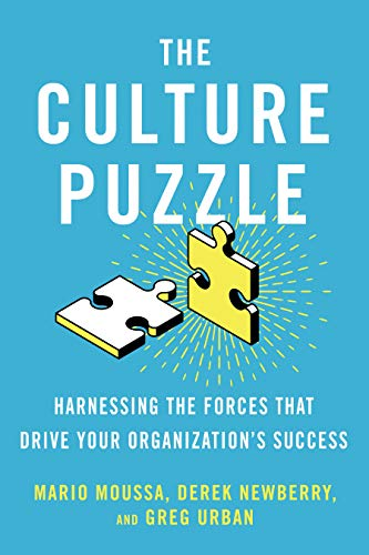Compare Textbook Prices for The Culture Puzzle: Harnessing the Forces That Drive Your Organization's Success  ISBN 9781523091829 by Moussa, Mario,Newberry, Derek,Urban, Greg